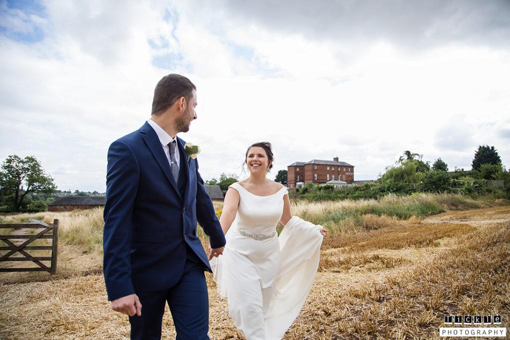 Derbyshire Wedding, Bride and Groom